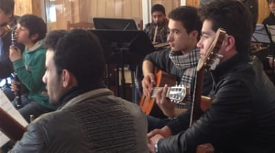 Afghan orchestra set to hit the right notes