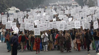 The case has galvanised a wave of protests against gender violence across India [Reuters]