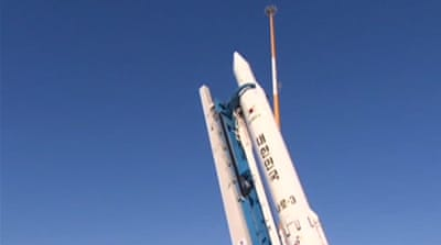 South Korea puts first satellite into space