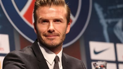 Beckham joins Paris Saint-Germain