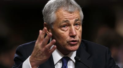 Hagel grilled by senate for Pentagon post