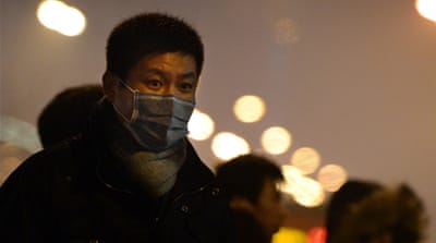 Beijing issues new smog warning