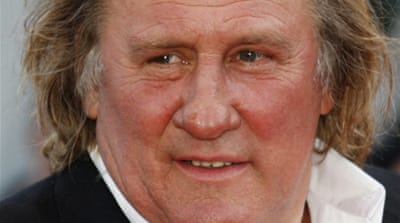 Gerard Depardieu is a popular figure in Russia, where he has appeared in many advertising campaigns [EPA]
