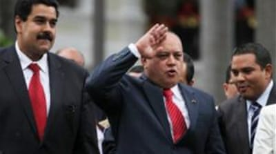 Two top Venezuelan politicians had claims to succeed 'El Comandante' following Chavez's death [AP]