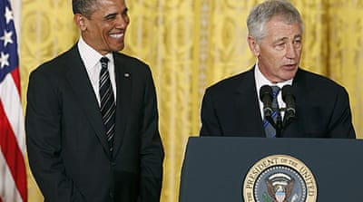 Is Chuck Hagel the man for the job?