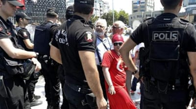 Observers speculate raids could be linked to tensions between PM Erdogan and cleric  Fethullah Gulen [Reuters]