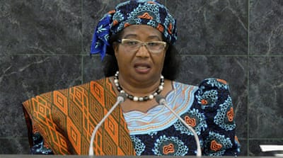 Joyce Banda's office said she would announce a new cabinet in due course, without elaborating [Reuters]