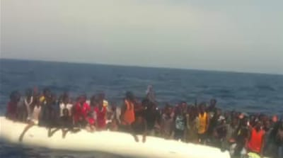 Migrants take perilous routes to Europe