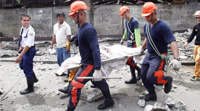 In Pictures: Philippine quake