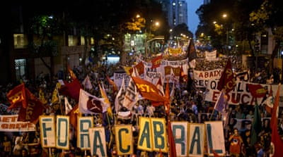 Black Bloc and teachers: Education crisis explodes on Rio's streets