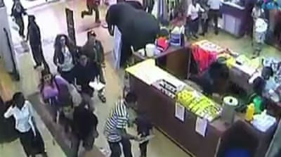 Mall footage depicts Nairobi siege terror