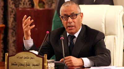Zeidan was kidnapped by gunmen for several hours last week before being released [EPA]