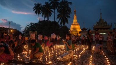 In pictures: Myanmar's lighting festival