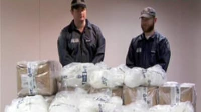 Methamphetamine is an addictive, crystal-like powdered substance [AP]