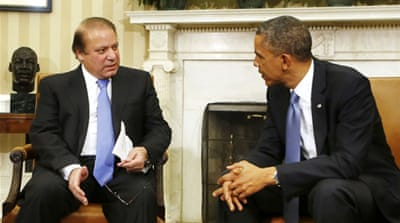 Pakistani PM urges Obama to end drone strikes