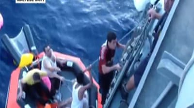 Syrian refugees rescued off Malta coast