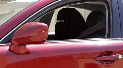 About 60 women claimed they got behind the wheel on Saturday to oppose the driving ban [Reuters]