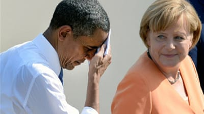 US 'not monitoring' Merkel's mobile phone