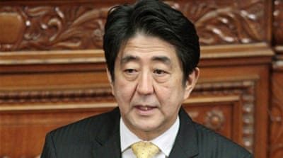 One of Prime Minister Abe's first decisions was to increase Japan's defence budget [File: AFP]