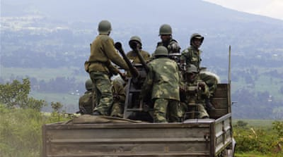 Army: M23 rebels pushed back in eastern DRC