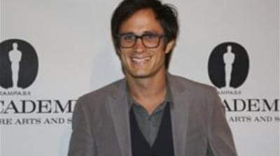 Gael Garcia Bernal: 'Being optimistic'