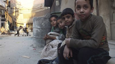 Syria's children bear brunt of violence