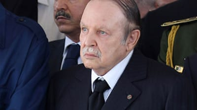 Algerians have protested against Bouteflika's decision to run for a fourth term as president [EPA]