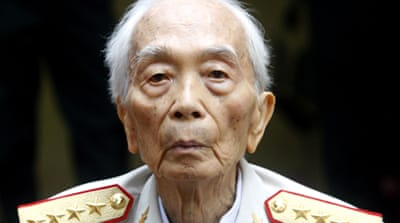 Vietnam army general Giap dies at 102