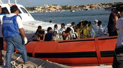 Italy searches for boat disaster victims