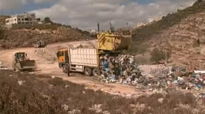 Israel dumps on Palestinian rubbish depot
