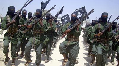 Al-Shabab spokesman Abdulaziz Abu Musab told AFP that commandos had stormed the beach by boat [AP]
