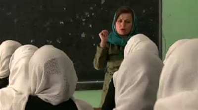 Afghan government aims to improve education