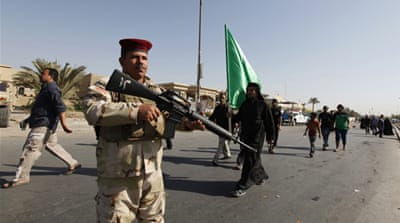 Iraq's military is using the US-supplied missiles in an ongoing battle against al-Qaeda [Reuters]