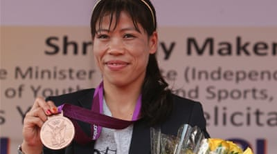 Mary Kom has offered a ray of hope to a state in the news for all the wrong reasons [Getty Images]