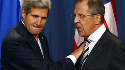 US Secretary of State John Kerry and Russian Foreign Minister Sergey Lavrov held the highest level talks [Reuters]