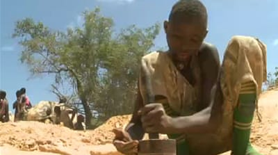 Child labour rampant in Nigerian mines