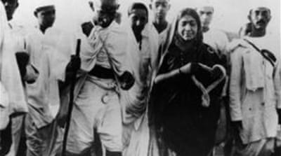 Sarojini Naidu was one of the vigorous members of India's freedom struggle movement  [Getty Images]
