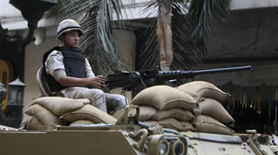 US withholds military aid to Egypt