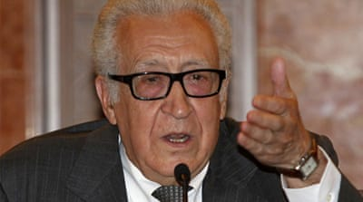 Brahimi: No Geneva talks without Syria rebels