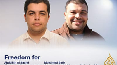 Calls to free Al Jazeera journalists in Egypt