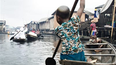 Nigeria's water-starved 'Venice of Africa'