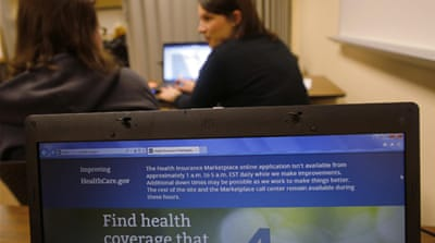 US health-care registrations fall short