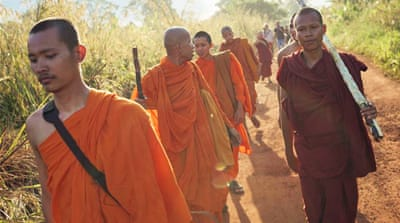 Cambodia's marching monks