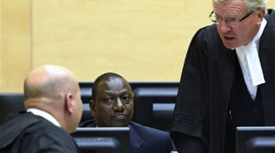 Kenya's Deputy President William Ruto has already appeared before the ICC [AP]