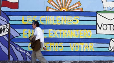 In pictures: Run-up to Chile's elections