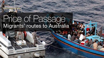 Interactive: Migrants' routes to Australia