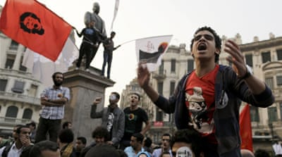 Tear gas fired in fatal Cairo protests