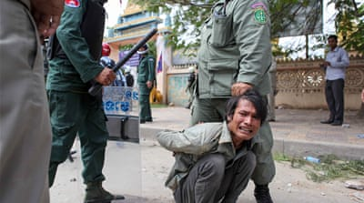 Cambodian workers battling for their rights