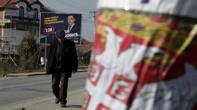 Special security measures are being put in place in northern Kosovo, where Serbs are divided [Reuters]