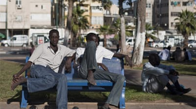 Some 54,000 African migrants currently live in Israel, with most coming from Sudan and Eritrea [AP]